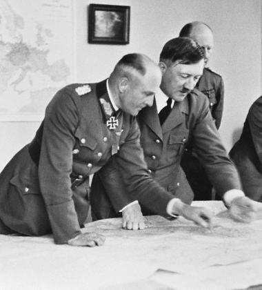 Hitler and General von Brauchitsch