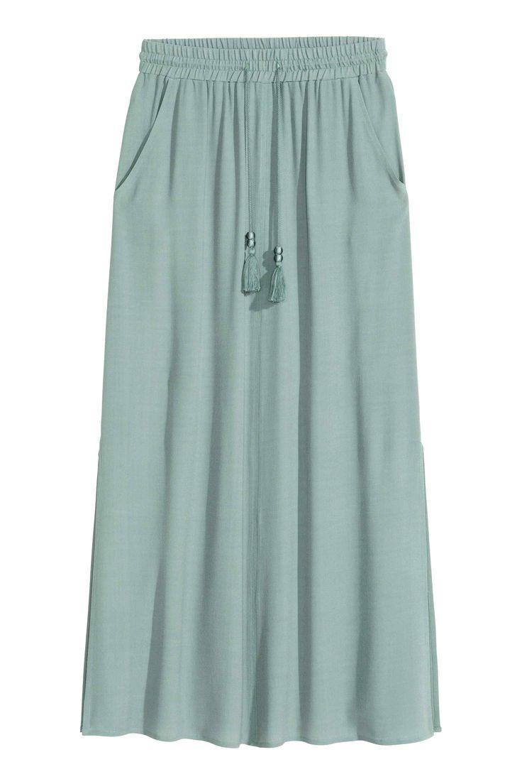 Długa spódnica   H&M