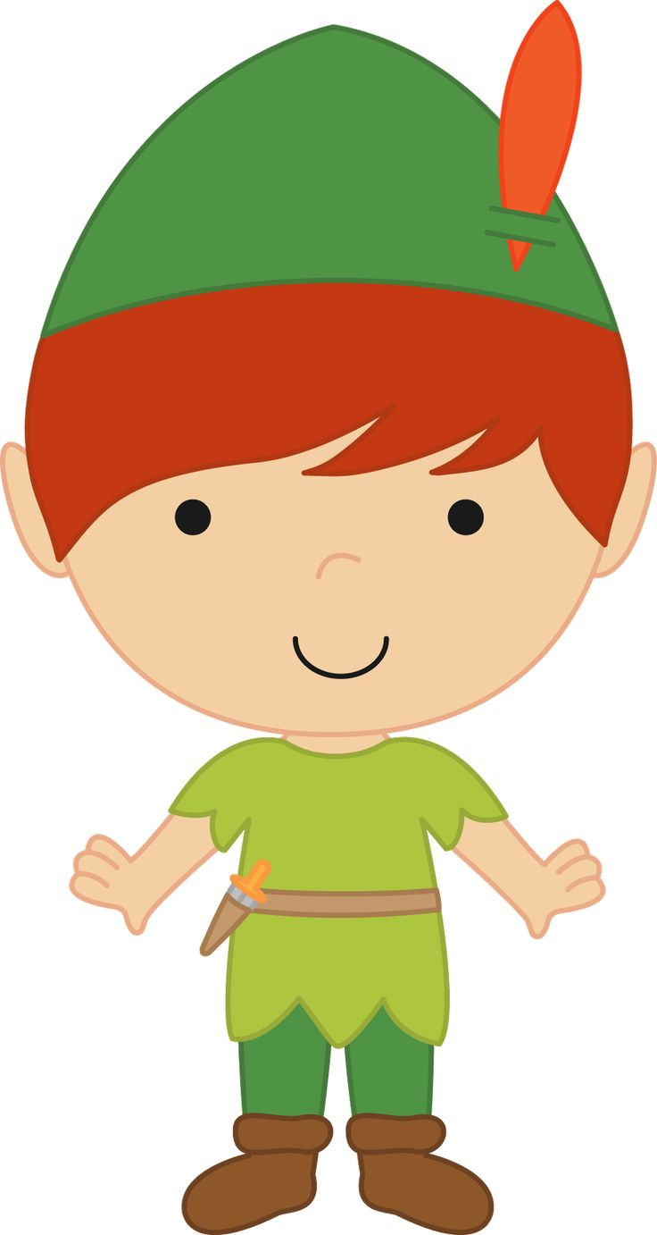 Neverland Friends Clipart 13 - Minus