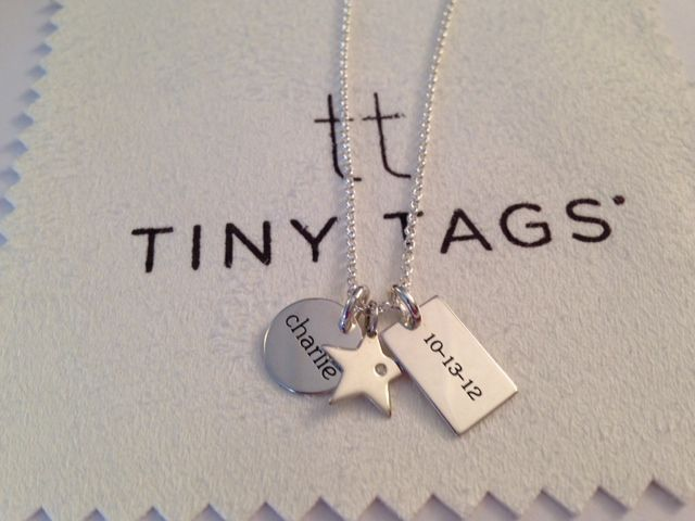 she wished to be a mom and her wish came true.  a mommy necklace to celebrate life's greatest gift!