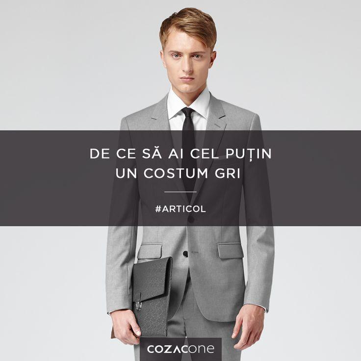 Ajutor neprețuit în garderoba ta - costumul gri: http://www.cozacone.ro/lifestyle/de-ce-sa-ai-cel-putin-un-costum-gri/