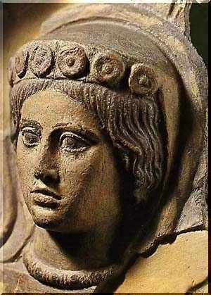 Etruscan Art  Etruscan women, unlike Greek women of the time, enjoyed an elevated status. They were allowed to take part in all public events, reclined at banquets next to their men, and were educated. They had great freedom in society.