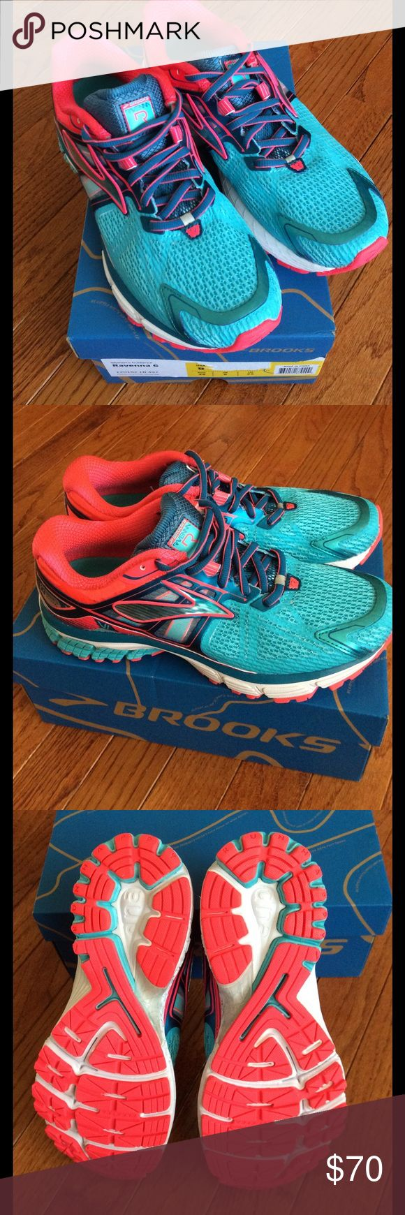 🆕 BROOKS ravenna shoes women's size US 8 These are brand new Brooks ravenna 6 shoes  women's size US 8 EU 39 Retails $110  ***PRICE IS FIRM***  My sister purchased these for cross country this season, but haven't worn them. Last one!   NO OFFERS or NEGOTIATIONS please!  Thank you for understanding  :)   I also have a NEW Brooks adrenaline size 8 if interested- please see my other listings :) Brooks Shoes Athletic Shoes