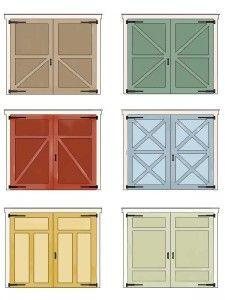 Wood Garage Barn Doors