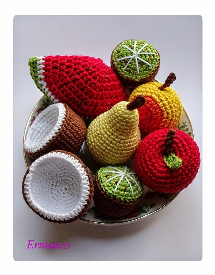 Crochet Fruits
