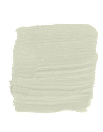 """Silken Pine by Benjamin Moore """"Pale green is a kind of universal donor. Even our most beige clients seem to respond well to green, probably because it's a color we s"""