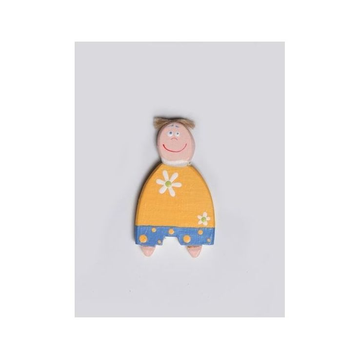 Hand-painted Little Boy Magnet – 6cmHand-painted Little Boy Magnet – 6cm
