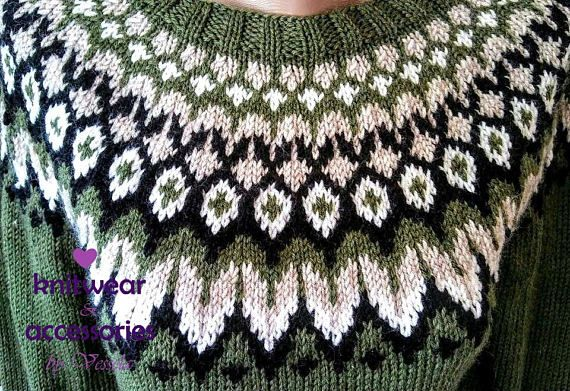 Wool Sweater Icelandic Sweater Kids Adults Nordic Knit