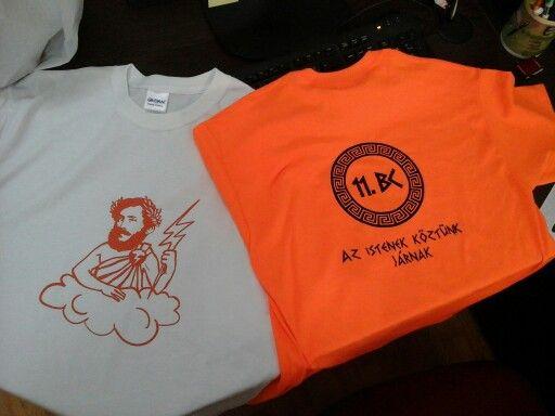 Diáknapi pólók a 11.BC-nek :)