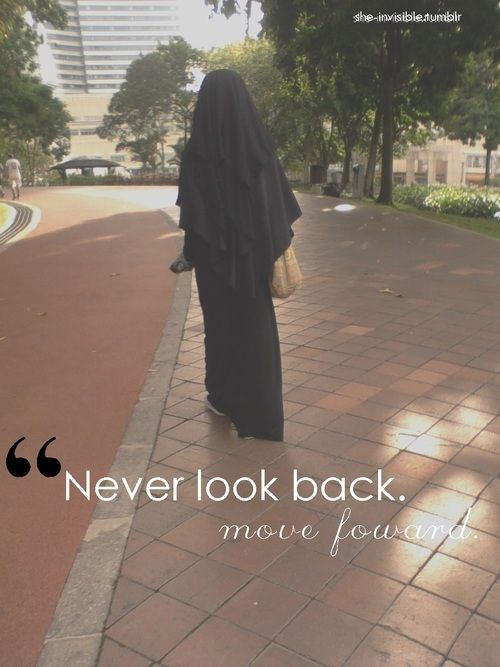 A Muslims always goes forward, never backwards. Don't despair, keep striving.