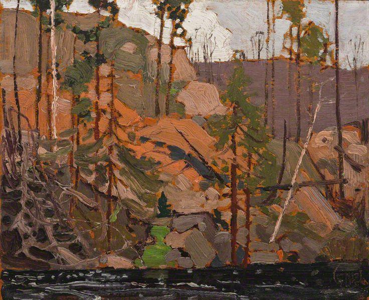 Tom Thomson Little Cauchon Lake, 1916 Oil on Wood 21.3 x 26.9 cm