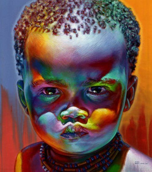 Illustration/Painting/Drawing inspiration - Lovely child.