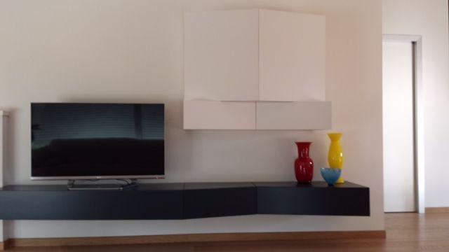 Focus on #5blocks storage system, private house, Thiene - Vi, project by Amadori Architettura d'Interni