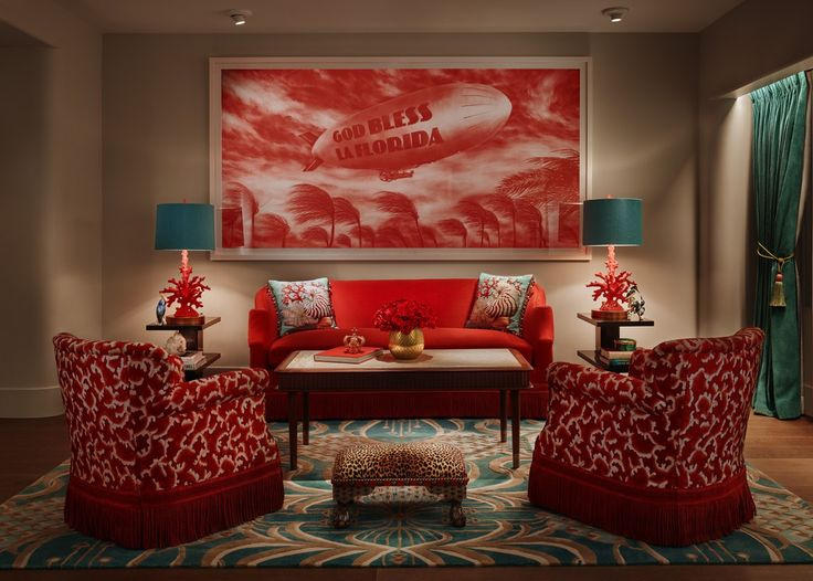 The oceanfront Faena Hotel is situated in Miami Beach, Florida and features an outdoor pool and a South American-inspired spa with massage, nail care, and salon services.