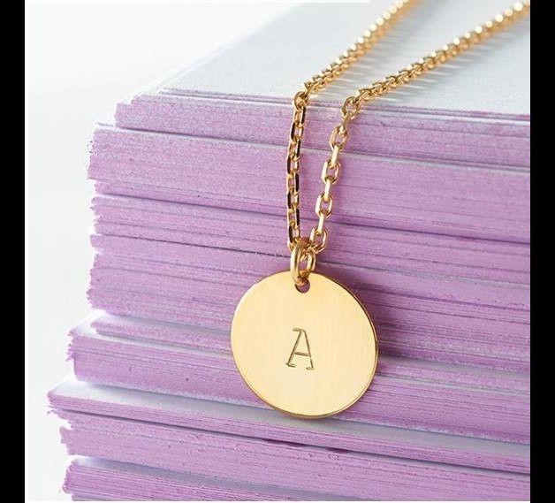 Gliederketten - Personalisierte Kette, gold-filled - ein Designerstück von ellisueBerlinSchmuck bei DaWanda