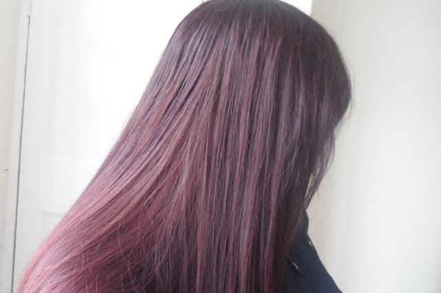 Ribena coloured hair with L'Oreal Casting Creme Gloss in ...