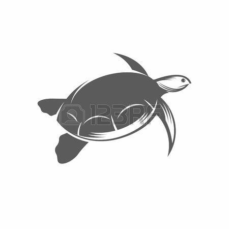 tatuaggio tartaruga: Illustrazione vettoriale di una tartaruga in stile e line-art stile antico. Può essere usato come un tatuaggio