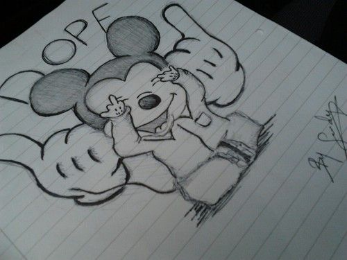 easy dope drawings tumblr - photo #13