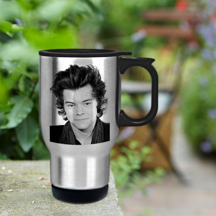 Harry Styles stainless steel travel mug