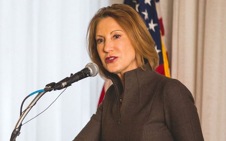 """Cybersecurity should be a """"huge"""" part of the general security conversation, and now is the right time to talk about it, according to Carly Fiorina, who is among those seeking the Republican nomination."""
