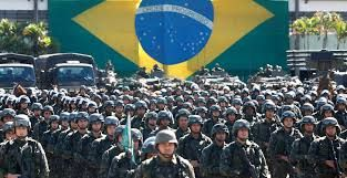 In Brazil there millitary is ranked 17. Which means they have the seventeenth best military in the world. They have almost 2 million people in their military. There square land area is about 8.5 million kilometers. There military is not mandatory and they use trillions of dollars towards their military. Brazil doesn't have any enemies but there allies are United States, England, Australia, Canada, Switzerland, Germany, and Spain.
