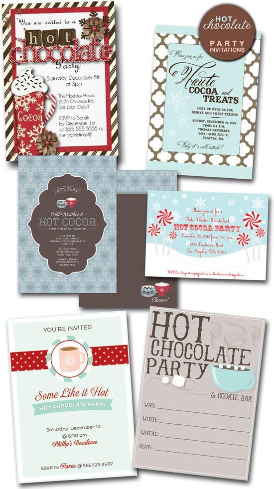 35 best Hot Chocolate Bar-Neighborhood Christmas Party images on ...