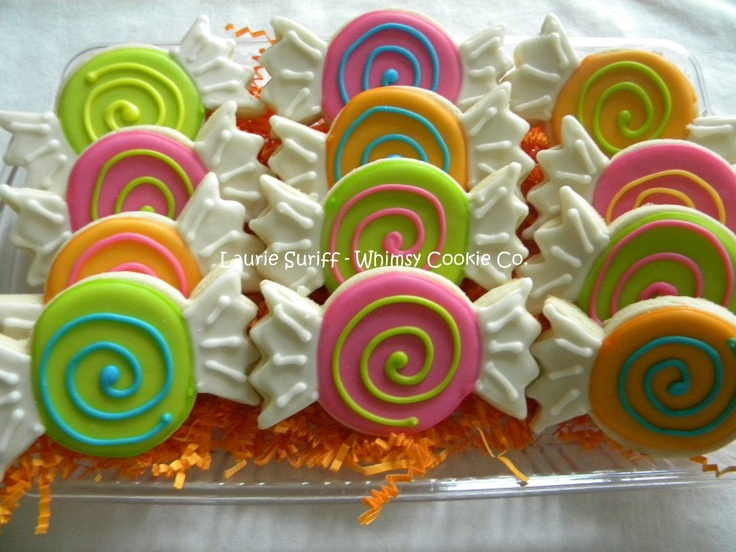 Candy cookies.. Cassie's bday