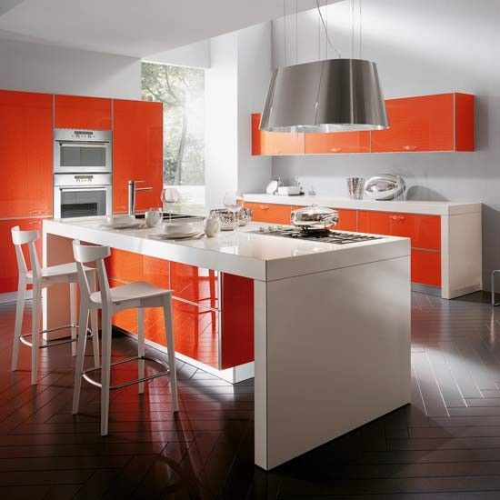 Oooo...some Fun Color Kitchen Inspiration. Like The Idea Of A Wild