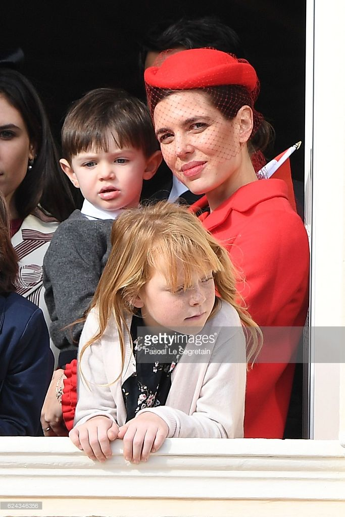 News Photo : Charlotte Casiraghi and a her son Raphael...