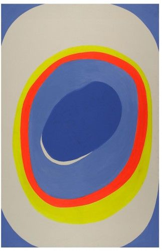 Il Tunnel, 1970 by Giulio Turcato. Color Field Painting, Lyrical Abstraction. abstract