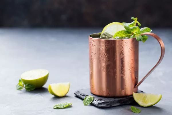 receitas de drinks moscow mule