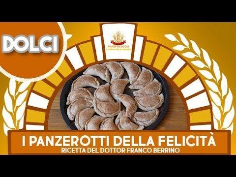 """I Panzerotti della Felicità """"Ricetta del Dottor Franco Berrino"""" - YouTube"""