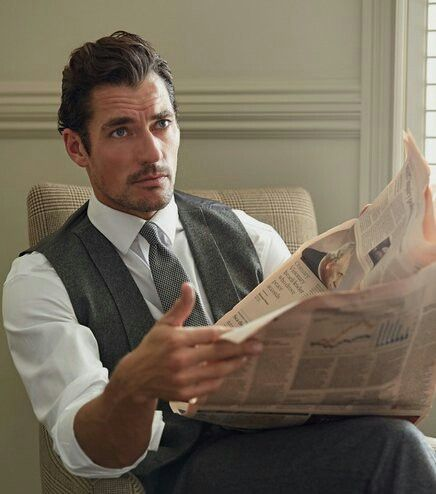 #New || David Gandy for London Sock Co. by Philip Panting                                                                                                                                                                                 Plus