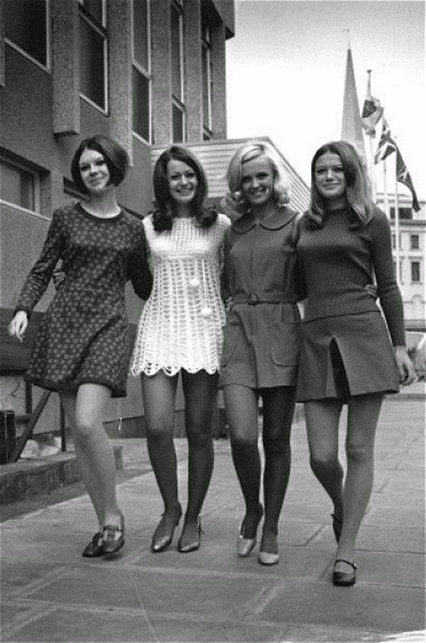 A história da moda: Anos 60 - mods, beatniks, contracultura e... Minissaias…