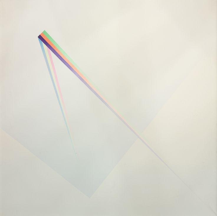 Hommage to Lex van den Bosch 1974 oil on canvas Jef Verheyen