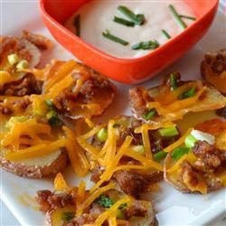 Cheese and Bacon Potato Rounds, photo by Lela