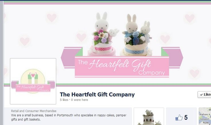 We are a small business, based in Portsmouth who specialise in nappy cakes, pamper gifts and gift baskets.
