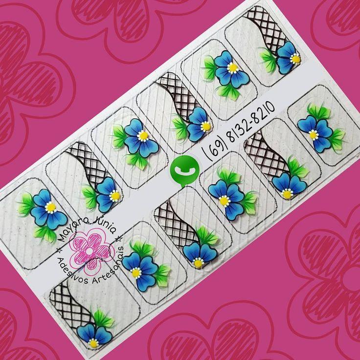 #adesivosdeunhas #adesivosartesanais #nailsticker #sticker