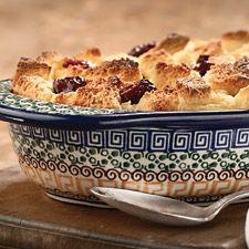 Italian Cherry Bread Pudding : King Arthur Flour