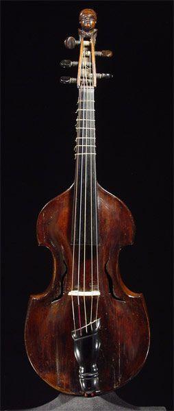 Viola d'amoreby Thomas Andreas HulintzkyPrague, 1774