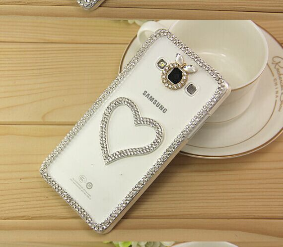 bling Crystal handmade diamond hard Phone Case For Samsung Galaxy A3 A5 A7 A9 J1 J5 J7 Pearl Lace Rhinestone back Cover Cases