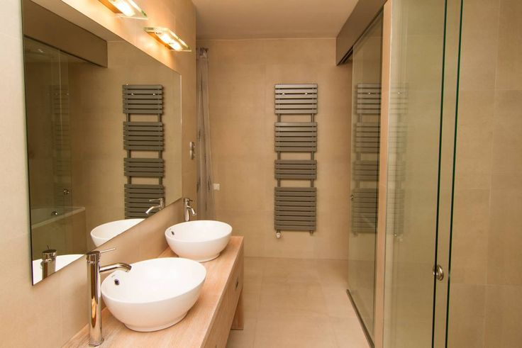 bathroom design, love this home, amazing and luxurious, beautiful, love the beige colour, exclusive, apartment living More luxury properties here -->  http://budapest.athome-network.com/hu/