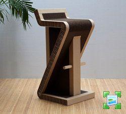 carton chair