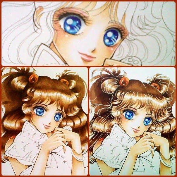 Copic Marker Europe: Suki Manga Copic illustration