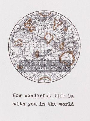 GREETING CARD WONDERFUL LIFE (6-pack) #10K31