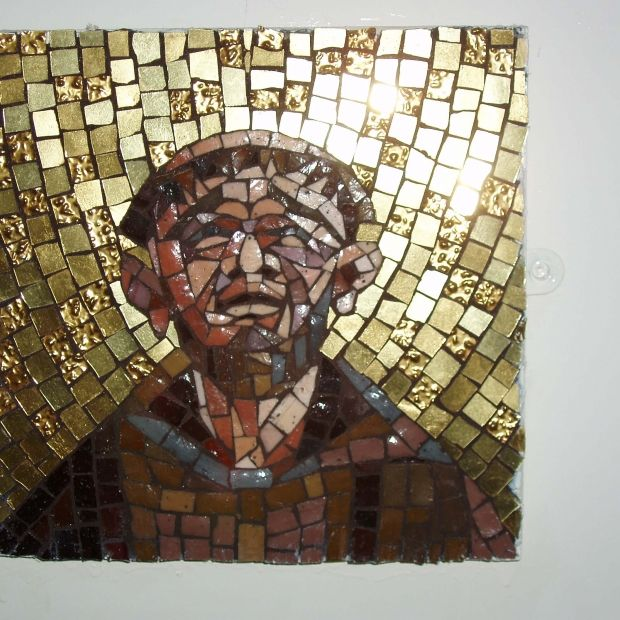 St Francis - Mosaics - Work - The Roger Wagner Website