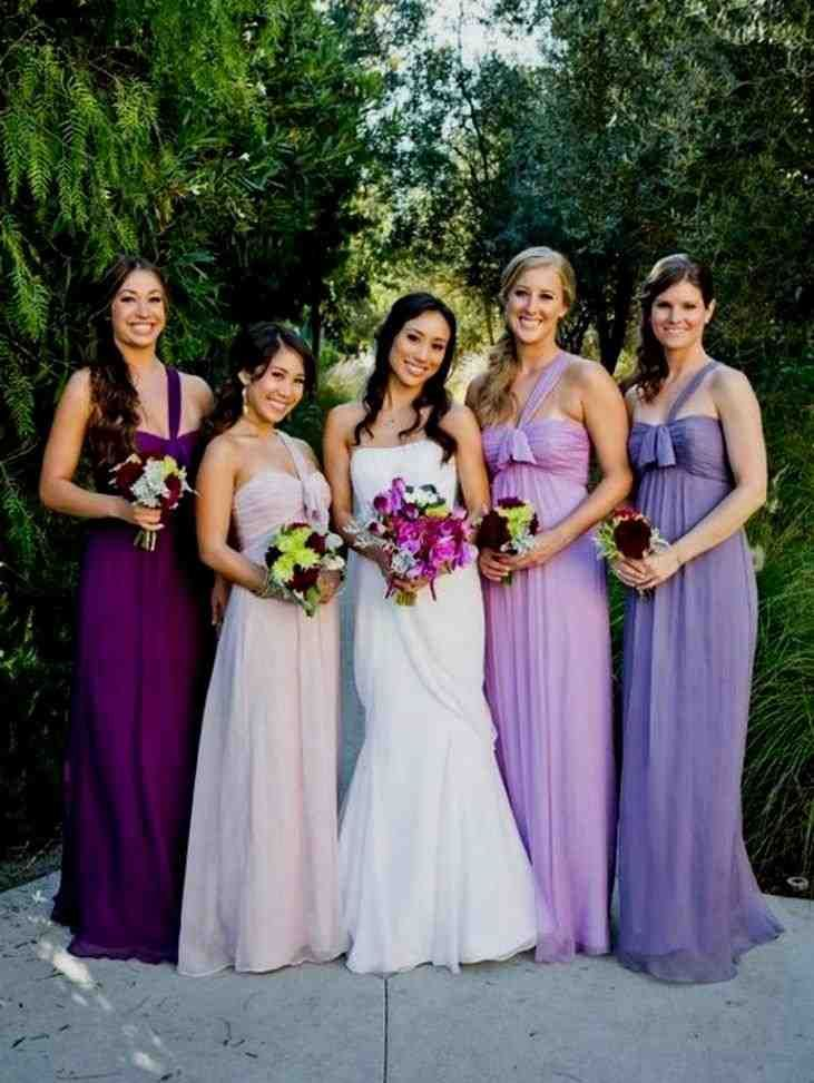 53 Best Purple Bridesmaid Dresses Images On Pinterest Brides