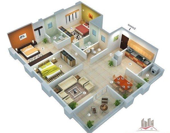 Desain Rumah Minimalis 3 Kamar Interistik Rumah Minimalis Rumah Desain Rumah
