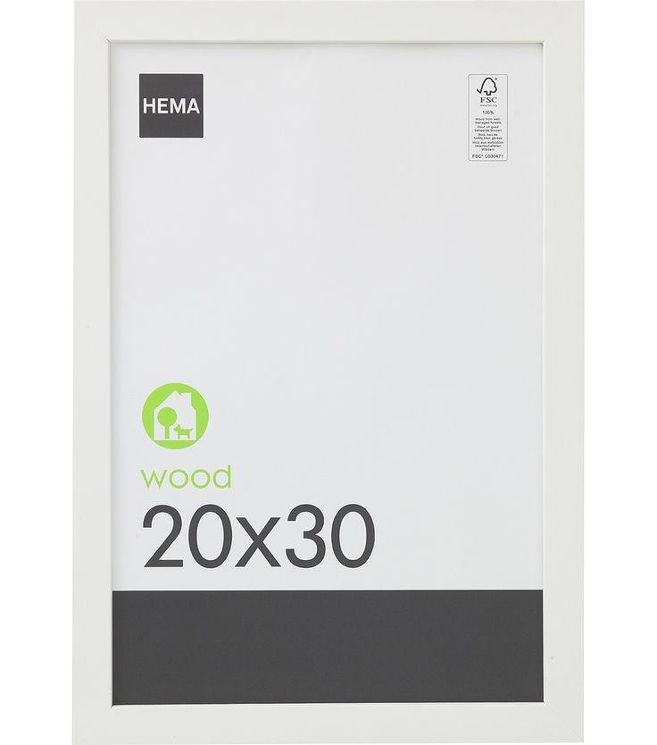cadre photo 20 x 30 cm - HEMA 4.00€