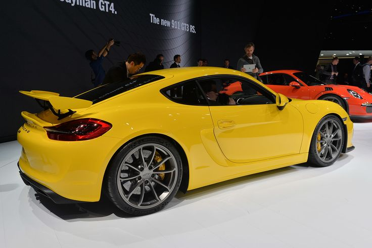 The Porsche Cayman GT4 celebrates its world premiere in early March at the Geneva International Motor Show. Description from autoblog.com. I searched for this on bing.com/images